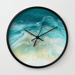 Island Bliss Wall Clock