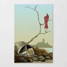 CARDINAL LOOMS Canvas Print