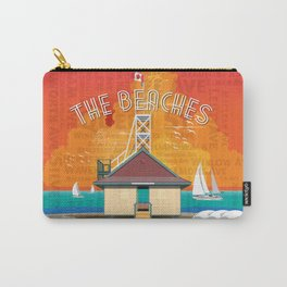 The Beaches Carry-All Pouch