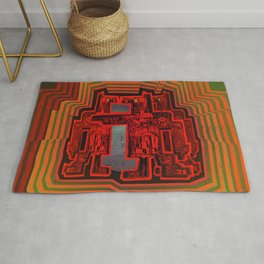 Three's a Crowd / Robotics Rug