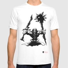 Migthy Orc Mens Fitted Tee White MEDIUM