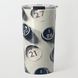 Vintage Bingo Board Game 4 Travel Mug