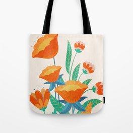 Summer Flowers I Tote Bag