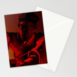 Solid Intrusion Stationery Cards