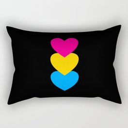 Pansexuality in Shapes Rectangular Pillow