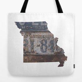 Vintage Missouri Tote Bag
