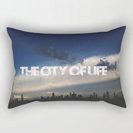 The city of life // #DubaiSeries Rectangular Pillow