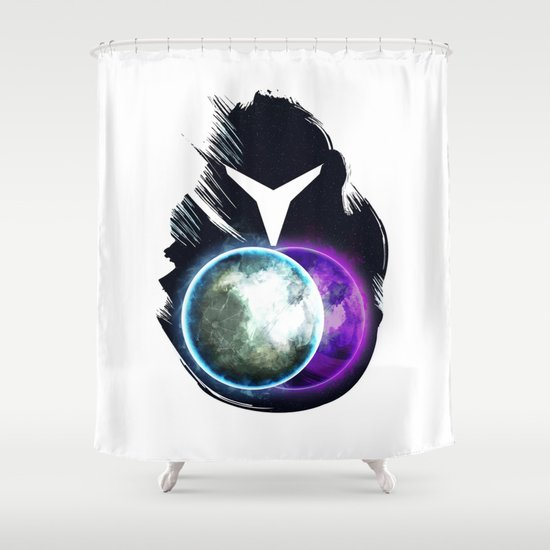 Metroid Prime 2: Echoes Shower Curtain