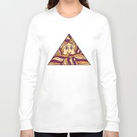 triangle Long Sleeve T-shirts featuring Triangle by Brad Hansen