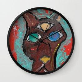 three eyed kangaroo Wall Clock
