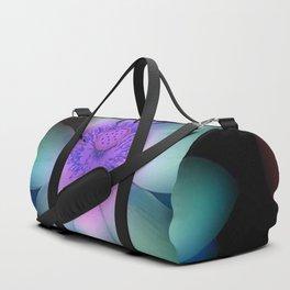 Glowing Lotus Flower Duffle Bag