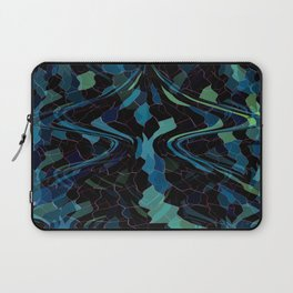 Deep Blue Mosaic Laptop Sleeve