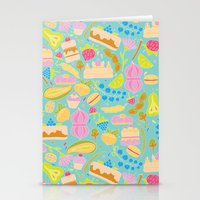baking Stationery Cards featuring Baking pattern by Calidurge