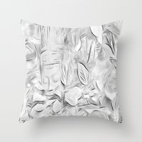 meditation Throw Pillows featuring Meditation by Dorothy Pinder