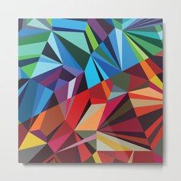 Colorful Mosaik Metal Print
