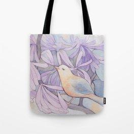 Affable Bird Tote Bag