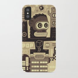 Pop Monk vintage iPhone Case