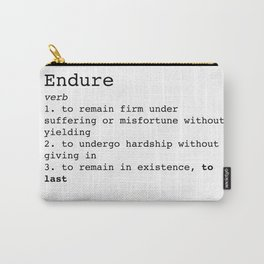 Endure Carry-All Pouch
