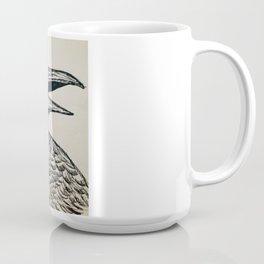 Feathered Hair Mug
