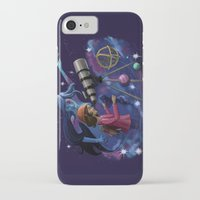 astronomy iPhone & iPod Cases featuring Muse of Astronomy by Jessica Chrysler