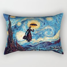 mary poppins Starry Night oil painting iPhone 4 4s 5 5c 6, pillow case, mugs and tshirt Rectangular Pillow