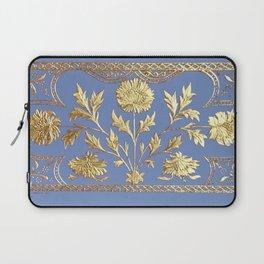 pianoflora horizontal (greek blue) Laptop Sleeve