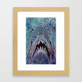 Shark Framed Art Print