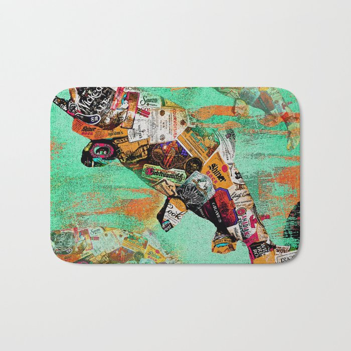 FISH AND BOURBON Bath Mat