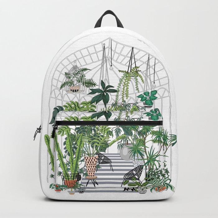 greenhouse illustration Rucksack