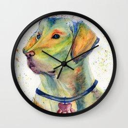 Colorful Dog - Labrador Retriever Wall Clock