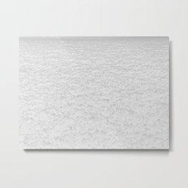 Snow Texture // Snowy Powder Close up Winter Field Ski Vibes Landscape Photography Metal Print