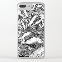 Life in  black and white Clear iPhone Case