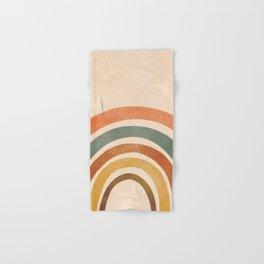 Retro Rainbow Hand & Bath Towel