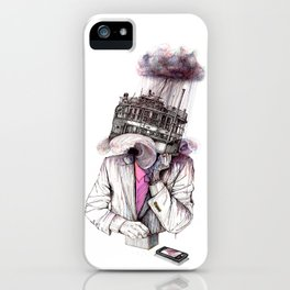 s.o.s iPhone Case