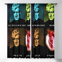 All That & A Bag of Chips - Hip Pop Art - Jéanpaul Ferro Blackout Curtain
