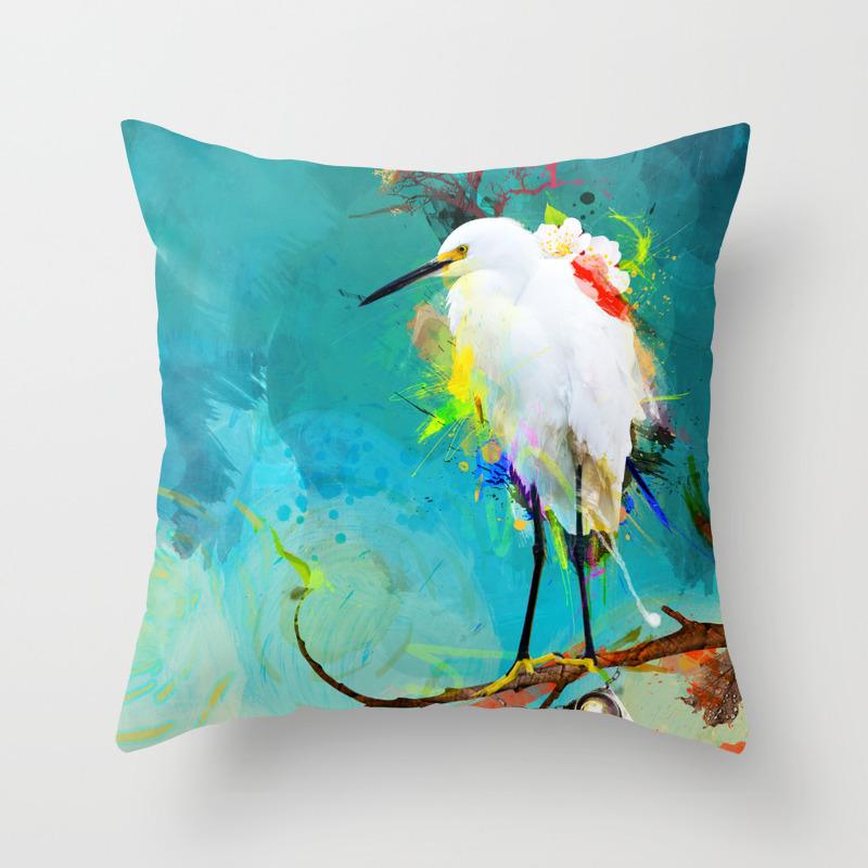 Evening Sun Throw Pillow by Archann PLW186534
