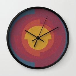 Earth's Core Wall Clock