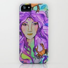 Cancer Zodic iPhone Case