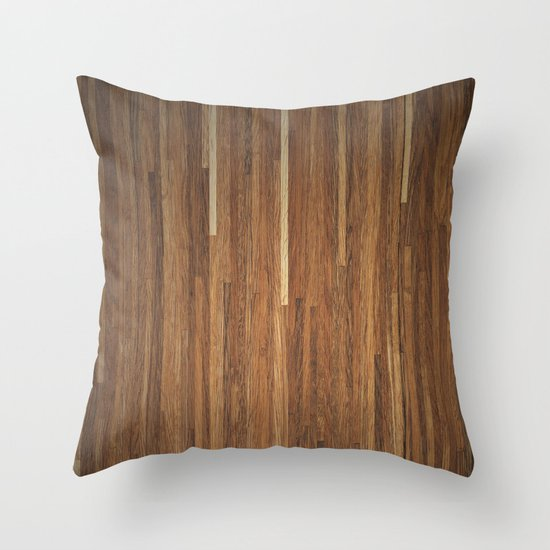 Wood #2 Throw Pillow
