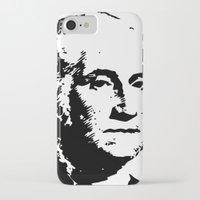 washington iPhone & iPod Cases featuring WASHINGTON by b & c