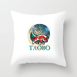 TAOBO The art of Brendon O'Farrell Throw Pillow