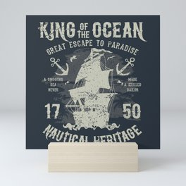 King of the Ocean Mini Art Print