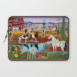 Painted Horses Laptop Sleeve
