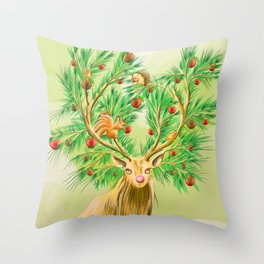 Have you finish your christmas tree yet? Throw Pillow