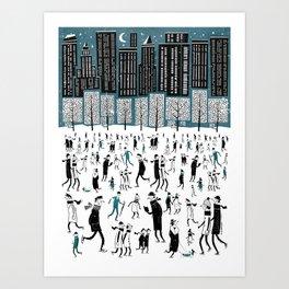 New York Skate of Mind Art Print