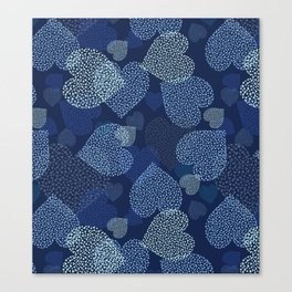 Hearts in hearts Canvas Print