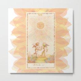 Il Sole Metal Print