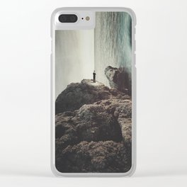 """Self-pity is... a sinkhole from which no rescuing hand can drag you because you have chosen to sink Clear iPhone Case"