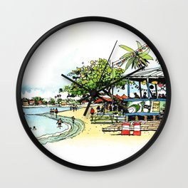 Calico Jack's, Grand Cayman (no notes) Wall Clock