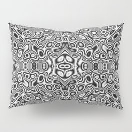Abstract kaleidoscopic pattern Pillow Sham
